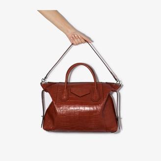 Givenchy red Antigona Soft medium leather tote bag