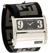 Fendi Zip Code Watch