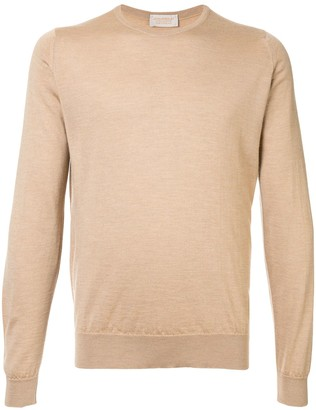 John Smedley Long-Sleeve Fitted Sweater