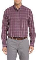 Cutter & Buck Men's Big & Tall Garden Plaid Wrinkle Free Sport Shirt