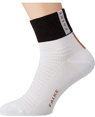 Falke Created Impact Short Sock (White) Men's No Show Socks Shoes