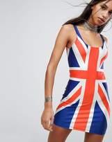 Jaded London Union Jack Mini Dress