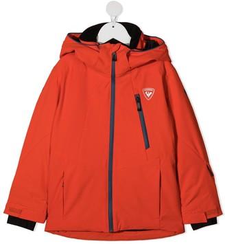 Rossignol Kids Hooded Zip-Up Jacket