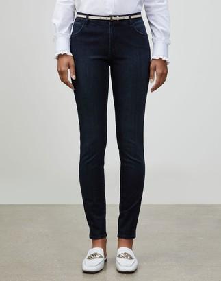 Lafayette 148 New York Prestige Denim Mercer Skinny Jean
