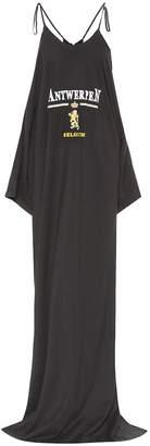 Vetements Printed cotton T-shirt dress