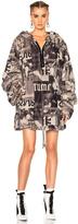 Fenty by Puma Printed Faux Fur Jacket