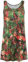 Lygia & Nanny - round neck printed dress - women - Polyamide/Spandex/Elastane - 38