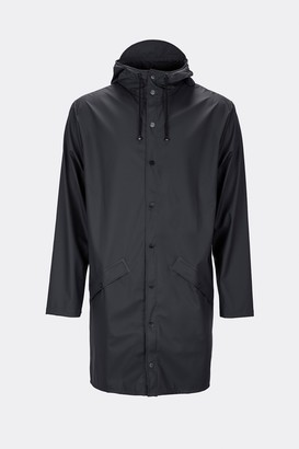 Rains Long Jacket 1202 Black - S/M