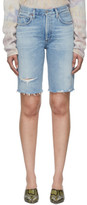 Citizens of Humanity Blue Denim Libby Shorts
