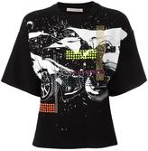 Christopher Kane relaxed car crash T-shirt