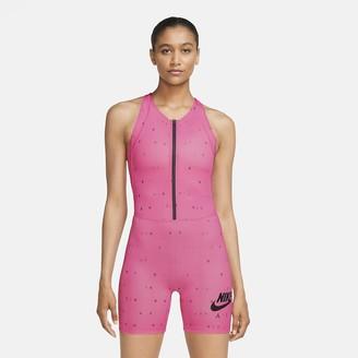 Nike Women's Printed Running Bodysuit