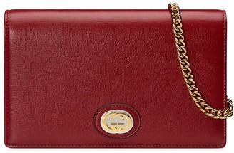 Gucci GG chain wallet
