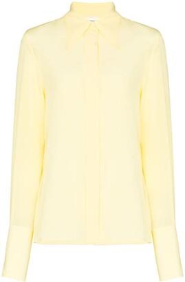 Victoria Beckham Cutaway Collar Shirt