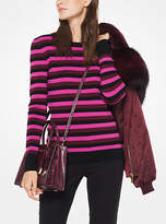 Michael Kors Striped Knit Pullover