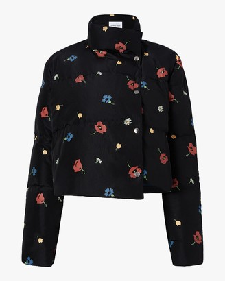 Michelle Waugh The Khirma Short Cropped Puffer Coat