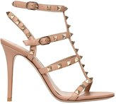 Valentino 105mm Rockstud Leather Sandals