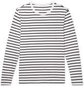 Sandro Striped Pima Cotton-Jersey T-Shirt