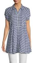 Free People Spring Love Plaid Tunic