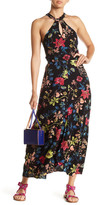 Angie Floral High Neck Dress