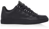 Balenciaga Lace-up Leather Sneakers