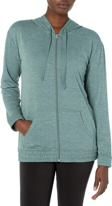 Hanes Women's Full Zip Hooded Jacket