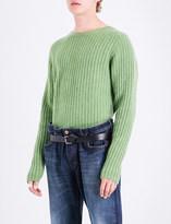 The Elder Statesman Ribbed cashmere jumper