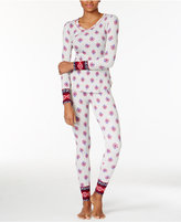 Lucky Brand Printed Thermal Pajama Gift Set