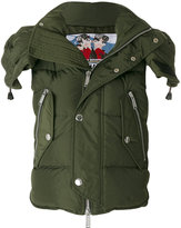 DSQUARED2 hooded military style jacket