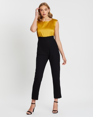 Closet London 2-in-1 Jumpsuit with Tie