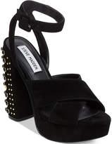 Steve Madden Women's Jodi Two-Piece Studded Heels