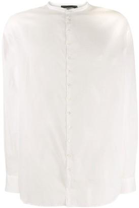 DSQUARED2 Band Collar Shirt