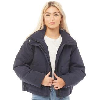 Hunter Womens Original Insulated Anorak Jacket Navy