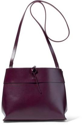 Kara Tie Leather Shoulder Bag