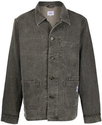 Nanushka Theo patch-pocket shirt jacket