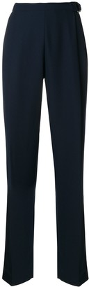Carven High-Waisted Pleated Trousers