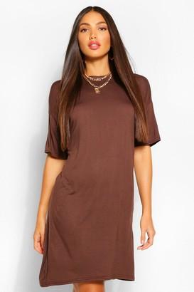 boohoo Tall Plain T-Shirt Dress