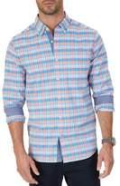 Nautica Plaid Button-Down Shirt