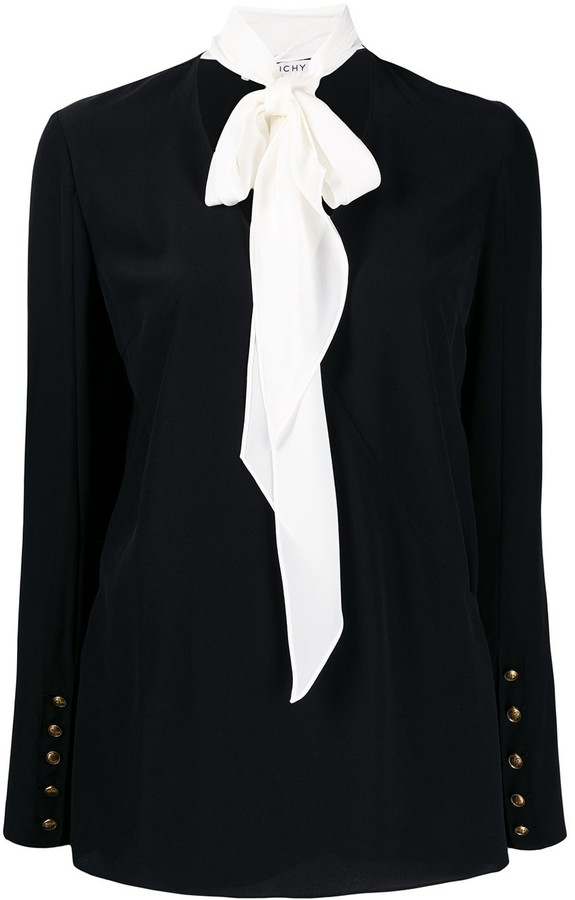 Givenchy Pussy Bow Detail Blouse