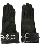 Balenciaga buckle-detail gloves