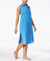Lauren Ralph Lauren Striped Nightgown