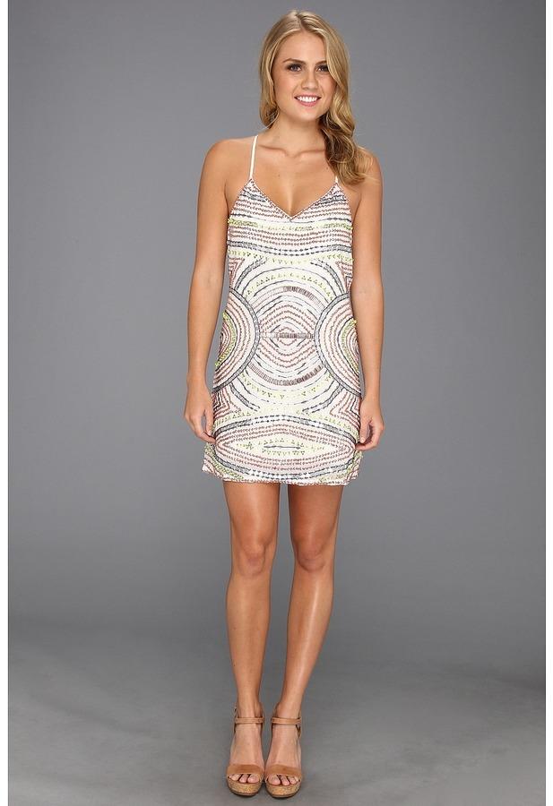 Parker Finn Dress (White) - Apparel