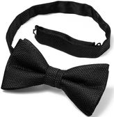 Charles Tyrwhitt Black silk knitted classic bow tie