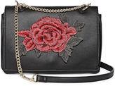 Asstd National Brand Rose Patch Crossbody Bag