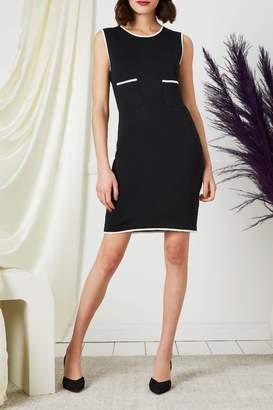 Chanel 1999 Cruise Black Knit Dress