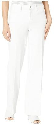 NYDJ Teresa Trousers in Optic White (Optic White) Women's Jeans