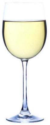 Vue Siena Set of 6 White Wine Glasses White Set