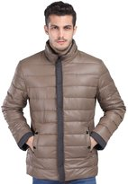 Fashciaga Men's White Duck Down Puffer Jacket