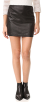 Mackage Alva Leather Skirt