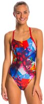 Arena Women's Abstract Challenge Back One Piece Swimsuit 8147025