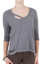 Chaser Distressed Long Sleeve